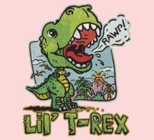 Little T Rex Dinosaur One Piece - Long Sleeve
