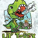 Little T Rex Dinosaur by MudgeStudios