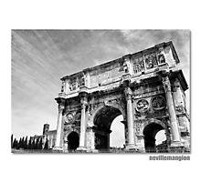 The Arch of Constantine Photographic Print