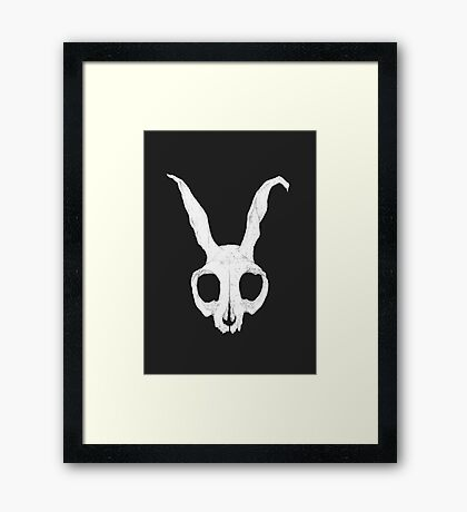 Frank Skull, Dark Alternate Version Framed Print