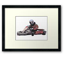 Karting Framed Print