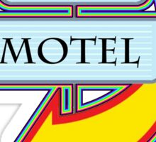 Nicky's Motel campy truck stop tee  Sticker
