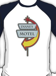 Diane's Motel campy truck stop tee  T-Shirt