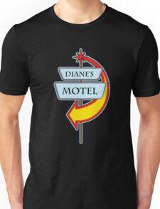 Diane's Motel campy truck stop tee  Unisex T-Shirt