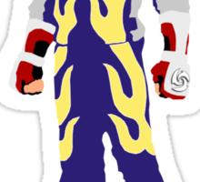 Tekken Jin Silhouette #2 Sticker