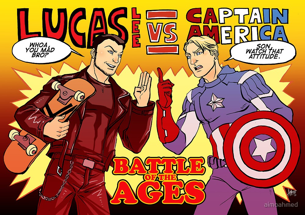 Lee vs Rogers by aimoahmed
