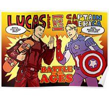 Lee vs Rogers Poster
