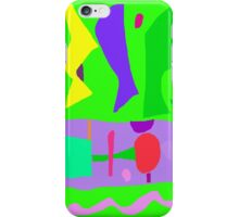 Kindergarten Pond Shrub Noise Play Family Memory iPhone Case/Skin