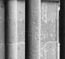Medieval Pillars Sticker