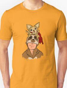 Slothman & Mighty Jack Portrait T-Shirt