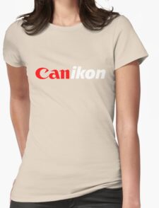Canikon BLK Womens Fitted T-Shirt