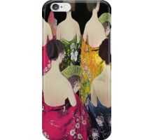 Women in mantones iPhone Case/Skin