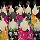 Women in mantones by Dulcina