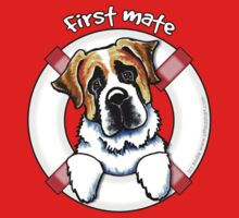 Saint Bernard :: First Mate by offleashart