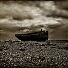 Abandoned Fishing Boat by Dave Godden