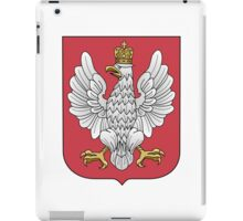 Coat of Arms of the Second Polish Republic, 1919-1927 iPad Case/Skin