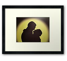 Guess The Silhouette ? Solved By Seth Weaver ! Framed Print