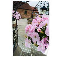 Pink Floral  Poster