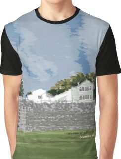 School on a Hill Graphic T-Shirt