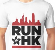 RUN HONG KONG 香港 (Dark Version) Unisex T-Shirt