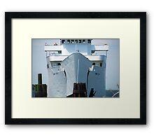 "Ferry: "" M/V Park City"" Framed Print"