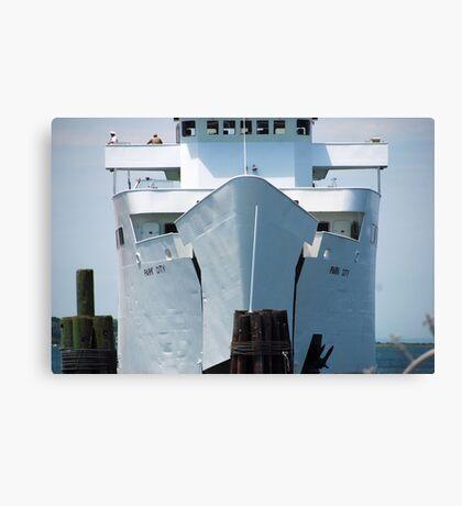 "Ferry: "" M/V Park City"" Canvas Print"