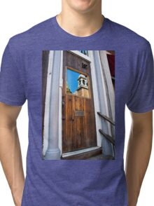 Door Reflection Tri-blend T-Shirt
