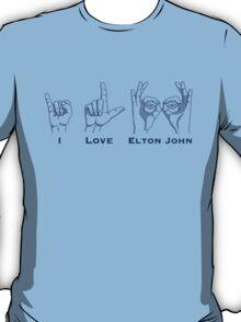 I Love Elton T-Shirt