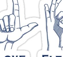 I Love Elton Sticker