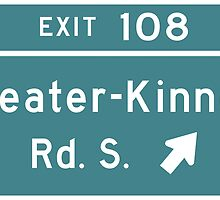 Sleater-kinney Intersection by Luckythelab