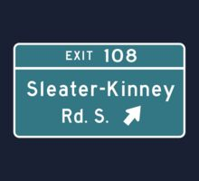 Sleater-kinney Intersection Kids Tee