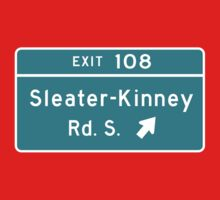 Sleater-kinney Intersection One Piece - Short Sleeve