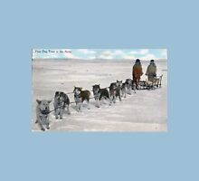 Old School Mushing: Prize Dog Team in the Arctic, 1911 Classic T-Shirt