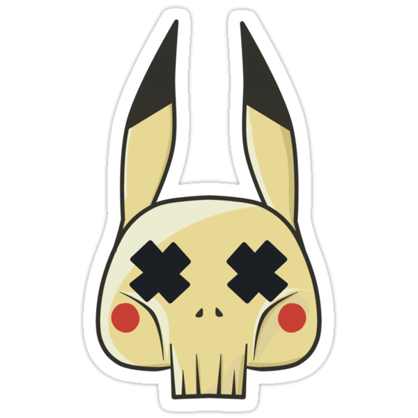 DED Pikachu by way2spooky
