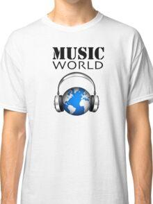 MUSIC WORLD Classic T-Shirt