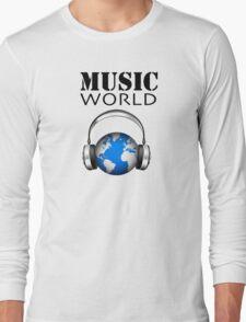 MUSIC WORLD Long Sleeve T-Shirt