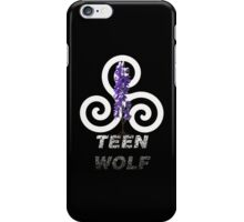 TEEN WOLF - Sticker + iPhone case iPhone Case/Skin