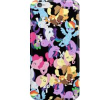 MLP Main Six Pattern iPhone Case/Skin
