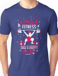 Merry Fitness !! Unisex T-Shirt