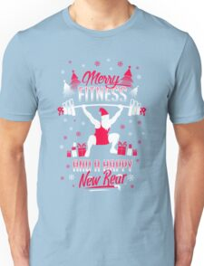 Merry Fitness !! Unisex T-Shirt