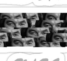 Dickie Davies Eyes Sticker