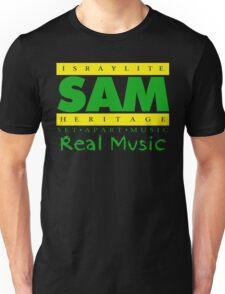 SAM GREEN AND YELLOW Unisex T-Shirt