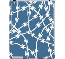 Blue Barb iPad Case/Skin