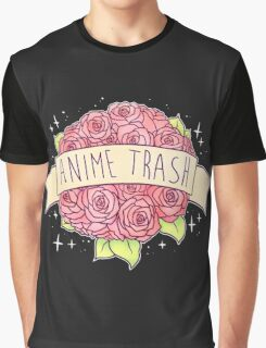 Anime Trash Graphic T-Shirt