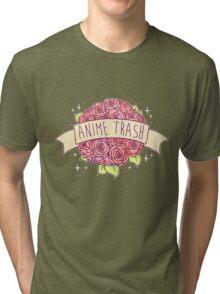 Anime Trash Tri-blend T-Shirt