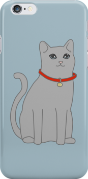 Cool Kitty Case by Lorren Francis
