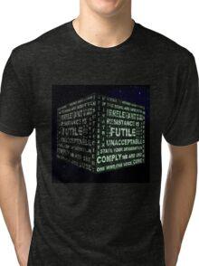 Borg Cube Tri-blend T-Shirt