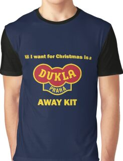 Dukla Prague Away Kit Graphic T-Shirt