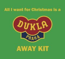Dukla Prague Away Kit Baby Tee