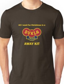 Dukla Prague Away Kit Unisex T-Shirt